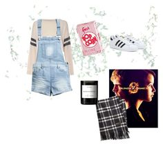"""""""Saturday"""" by lilykc3 on Polyvore featuring Glamorous, H&M, adidas, Brooks Brothers and Byredo"""