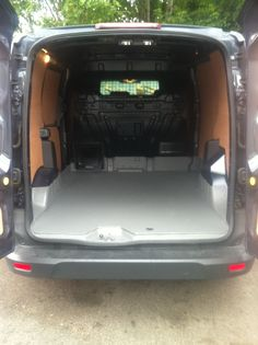 Speedline~: The sides and doors were ply lined and the floor was sprayed using Speedliner to create a water tray...