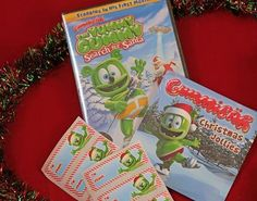 """Our new Gummibär Christmas Gift Pack includes your favorite """"Christmas Jollies"""" EP, """"Yummy Gummy Search For Santa"""" DVD, and our Gummibär Christmas Gift Tags (set of Christmas Gift Tags, Santa Christmas, Shops, Your Favorite, Packing, Girl Gamer, Soccer, Bag Packaging, Tents"""