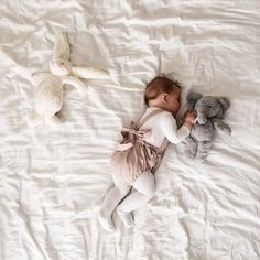 Well isn't this the cutest sleepover we ever did see 🐘 😴 #lovemypbk 📷: @lailah_and_i