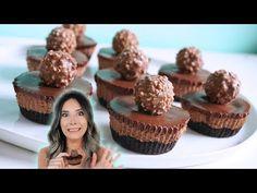 Nutella dessert Videos - Best Ever No Bake Mini Nutella Cheesecakes Recipe Potluck Desserts, Great Desserts, Mini Desserts, Best Dessert Recipes, Cookie Desserts, Delicious Desserts, Cake Recipes, Individual Desserts, Cold Desserts