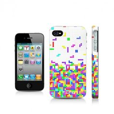 iPhone cover  4 - tetris pattern