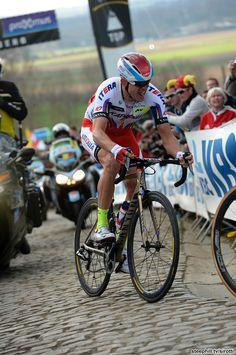 2015 Tour of Flanders Alexander Kristoff (Katusha) on the Patersberg