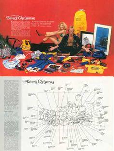 Scuba Divers Christmas Shoppers Guide (1978)