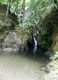 Faith Nolton: The Pools of Annwn,   fabled local gateway to the faery realm in the Welsh Mabinogion sagas