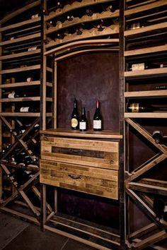Sustainable Wine Racking Designed by Vintage Cellars