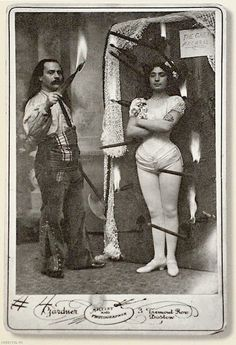 vintage carnival sideshow performers