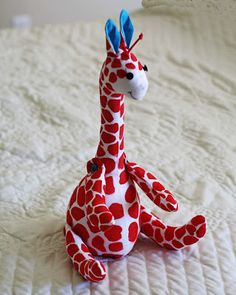 gift presents: giraffe softie tutorial, kids craft ideas - crafts ideas - crafts for kids