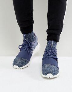 buy popular 37ac0 e69fb adidas Originals Tubular Doom PK Sneakers In Purple BB2393
