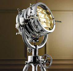 Royal Master Sealight Floor Lamp from Restoration Hardware
