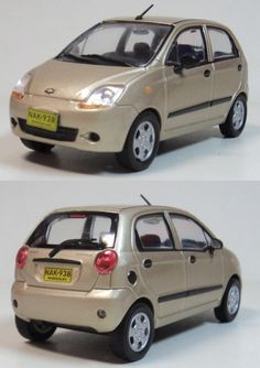1:43 Scale Model of Chevrolet Spark. Want to see more detail pictures? Click on the image to see more.
