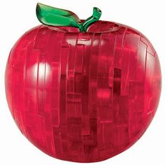 44 piece 3D puzzle that will keep you amuzed as you try to reassemble the red crystal effect pieces back into the shape of a red apple. https://www.gimmethatnow.com/crystal-red-apple-3d-jigsaw-puzzle