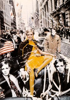 ALL TWIGGY EVERYTHING. Twiggy in New York, 1967. Photo by Melvin Sokolsky.