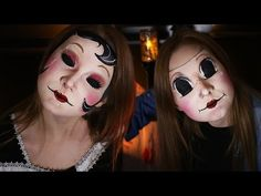 """The Strangers """"Masks"""" DONE IN MAKEUP! 