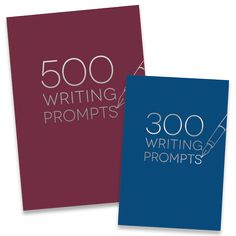 Our 300 & 500 Writing Prompts guided journals are lined with a prompt or two…