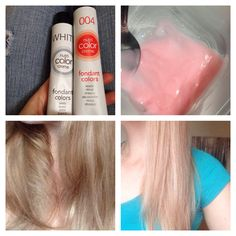 how i achieved this color thanks to revlon nutri color creme fondant colors - Nutri Color Creme Revlon