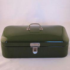 1940's Enamel Bread Bin / Box