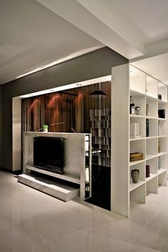 TV backdrop of choice must be combined with TV cabinet, coffee table, sofa and curtains to choose the color, in general, choose close color will become more harmonious unity, in general