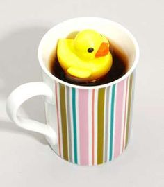 The Duckie Tea Infuser Will Make You Feel Like a Kid Again #tea #teaaccessories