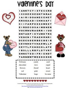 valentine's day cvc words