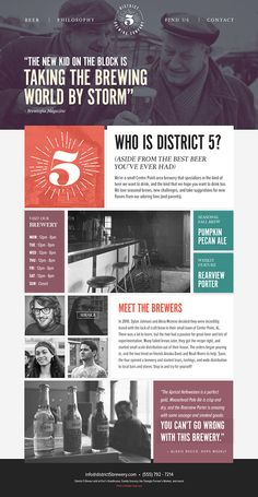District 5 Web + Identity on Behance