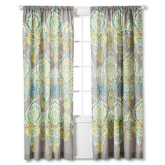 "Mudhut™ Anila Curtain Panel - Multi-Colored (84"")"