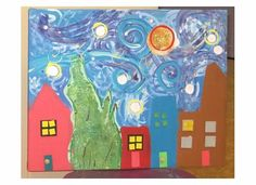 Van Gogh Starry Night Pre-school