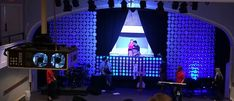 Styro Stage Design from First City Church in Pensacola, FL | Church Stage Design Ideas