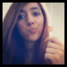 school time...lollipop :P #school #lollipop #girl #girls #lollipops