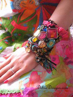 Lumières de nuit Gypsy Jangle Bracelet éblouir par AllThingsPretty