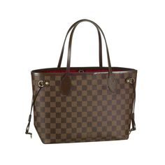 Louis Vuitton Neverfull PM Brown Totes N51109 #LV #LVbags