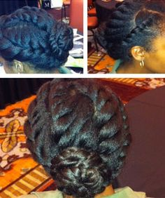 Moisturizing Dry Hair and Protective Styling in the Winter