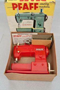 Pfaff toy sewing machine