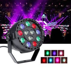 Features:100% brand new and high quality.Ideal for all kinds of stage or party lighting.High quality ABS material, long service time, safe and reliableMixing light will bring you a wonderful visual experience.Specification:Light source: 12 PCS LEDsVoltage: AC90-240V 50/60HZColor:R3, G3, B3, W3Voltage: AC 90 - 240VControl mode: Auto, voice activated, DMX512, master-slaveChannel: 8CHPackage Include:1 x LED Par LightNotes Type Stage lighting Model Sound/Auto Control Control DMX Light Source LED…