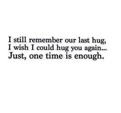 I still remember...