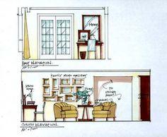 I love Candice Olson's illustrations