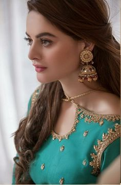 Fancy Dress Design, Stylish Dress Designs, Bridal Dress Design, Designs For Dresses, Pakistani Wedding Outfits, Pakistani Bridal Dresses, Pakistani Dress Design, Bridal Outfits, Pakistani Bridal Makeup