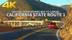 [FULL VERSION] CALIFORNIA STATE ROUTE 1 - Driving from Morro Bay to Carm... Carmel Beach, Carmel California, Morro Bay, 4k Uhd, Big Sur, Places, Youtube, California, Big Sur California