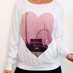 WILDFOX SWEATER Cute baby blue soft sweater! New with tags! Wildfox Sweaters Crew & Scoop Necks