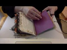 Simple Envelope Junk Journal Halloween Theme - YouTube
