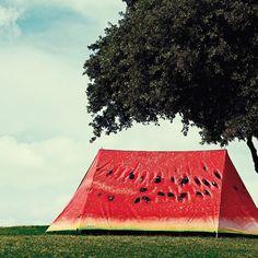 """""""What a melon"""" このテントでキャンプしたい!"""