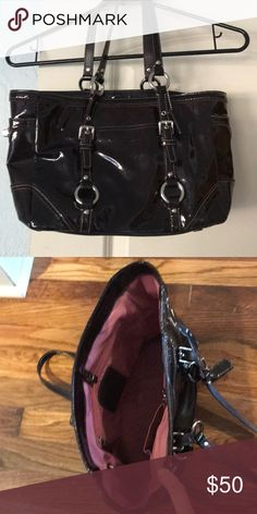 450fd1a310b ... Dolce   Gabbana Bags Satchels. Coach tote Coach tote. This is used.  Still in good condition but has been. Poshmark