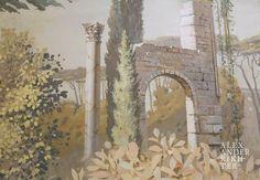Curtains, Landscapes, Painting, Home Decor, Art, Paisajes, Art Background, Blinds, Scenery