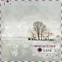 Made with Chilly Winter from Happy Scrap Arts. Available at Digiscrap: http://winkel.digiscrap.nl/Chilly-Winter-bundle/