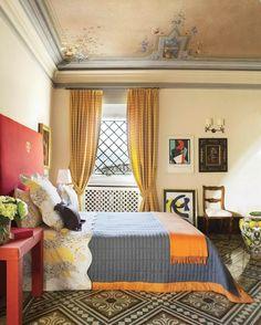 bonitas cortinas amarillas estilo moderno
