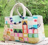 """The """"Maxwell"""" Bag Pattern by Abbey Lane Quilts - beautiful design!"""
