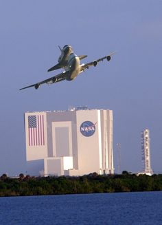 Space shuttle transporter...