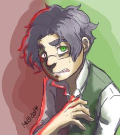 Midori's webcomic art