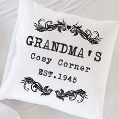 Personalised Birthday Gifts for Grandma Birthday Gifts For Grandma, Grandma Gifts, Gifts For Mum, Retro Sweet Hampers, Vintage Cushions, Fabulous Birthday, Personalized Birthday Gifts, 1st Anniversary, Girl Birthday