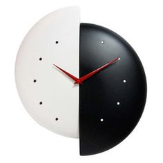 Half Time Wall Clock